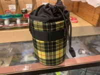 FAIRWEATHER | Stem Bag (Yellow Check)