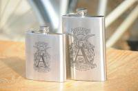Ahearne Cycles * Engraved Flask *
