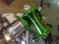 ChrisKing * R45 Road Hub Set * 32h (Sour Apple)