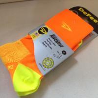DeFeet * Aireater HiTop Socks * Orange