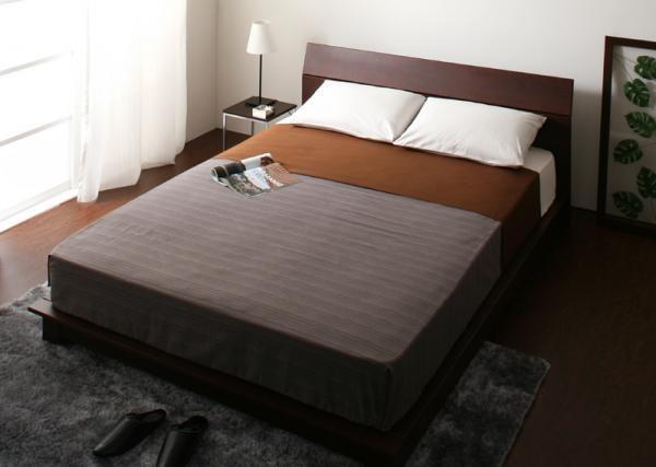 レクト・ロー【RECTO-low】デザインパネルすのこベッド