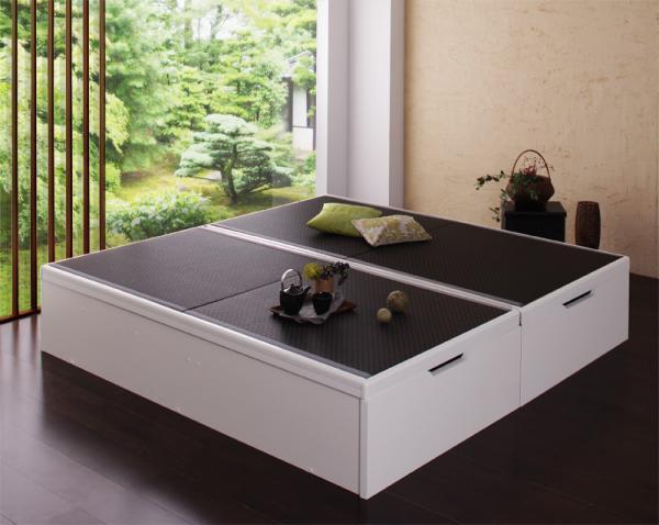 【組立設置】美草・日本製 大容量畳跳ね上げベッド【Komero】コメロ