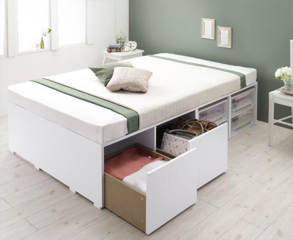 衣装ケースも入る大容量収納ベッド Friello フリエーロ