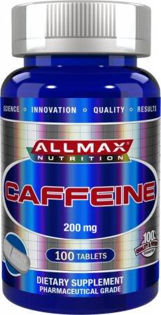 Allmax Nutrition・カフェイン200mg(100粒)