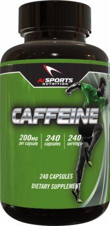 AI Sports Nutrition・超徳用カフェイン200mg(240粒)