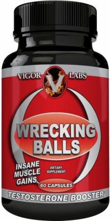 VIGOR LABS・レッキングボール (60カプセル)