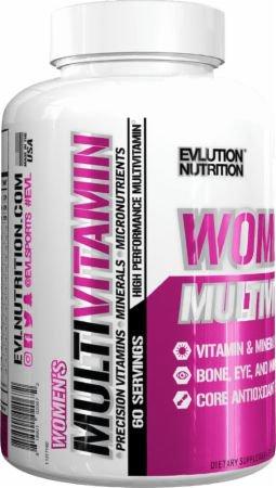 EVLUTION NUTRITION ・女性向けマルチビタミン (120粒)