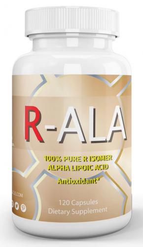 L.Aニュートリション・R-ALA アルファリポ酸(120カプセル)