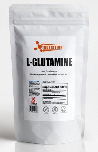 L.Aニュートリション・L-グルタミンパウダー徳用(1kg)