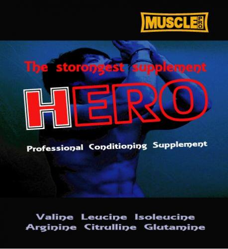 マッスルプロダクション・HERO(ヒーロー)1kg送料込み