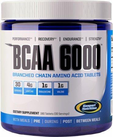 ギャスパリニュートリション・BCAA 6000(180粒)