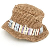 GO HEMP ACYJAN HAT (Lt.BROWN)