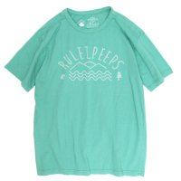 rulezpeeps Logo Tee (Blue Green)