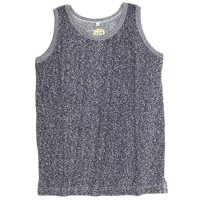 A HOPE HEMP Melange Tank Top (Navy)