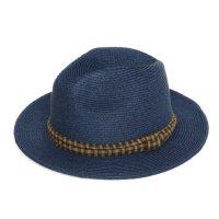 GO HEMP CLASSIC HAT CHECK (NAVY)