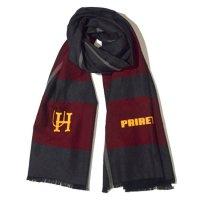 PRIRET U.H.P Stole cotton (ネイビーロゴ)