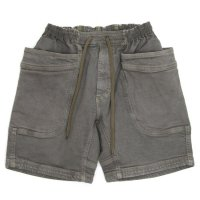 GO HEMP VENDER CHILL SHORTS H/C STRETCH (MOUSE GRAY)