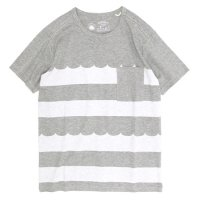 rulezpeeps Wave Border Tee (Charcoal Gray)