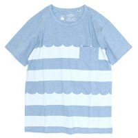 rulezpeeps Wave Border Tee (Light Blue)