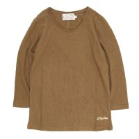 A HOPE HEMP レディース  Set in 3/4 Women's Tee (Earth)