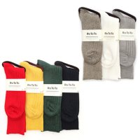 RoToTo LINEN COTTON RIB SOCKS(ロトト)