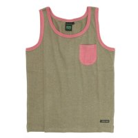A HOPE HEMP Pocket Tank Top (Rat Sage)(アホープヘンプ)