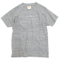 ACCHA LOOPWHEEL SET IN CREW NECK TEE (GRAY)(アチャ)