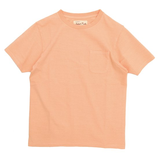 August Roots Classic Pocket Tee (ORANGE)(オーガストルーツ)