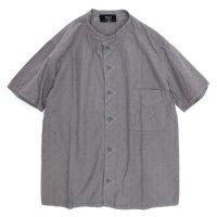 remilla 半袖クラックシャツ (ラベンダーグレイ)(レミーラ)