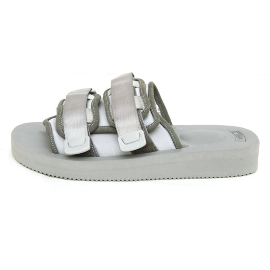 SUICOKE × hobo Suede Leather Piping Shower Sandal (Gray)(ホーボー スイコック)