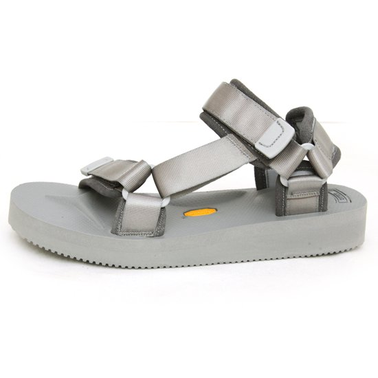 SUICOKE × hobo Suede Leather Piping Strap Sandal (Gray)(ホーボー スイコック)