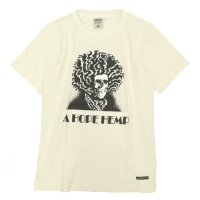 A HOPE HEMP Jim Batha S/S Tee (Natural)(アホープヘンプ)