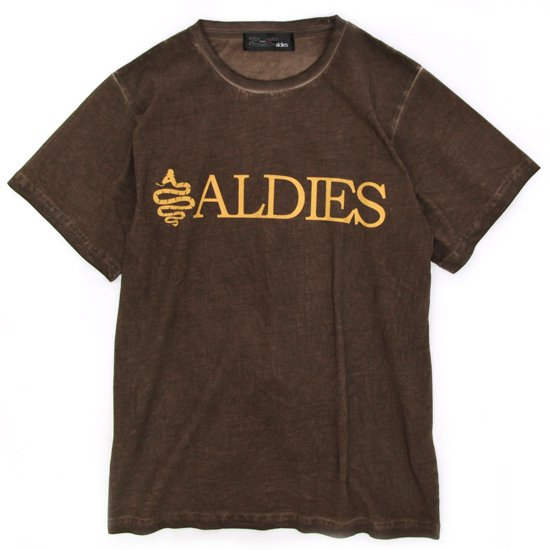 ALDIES Logo T (BROWN)(アールディーズ)