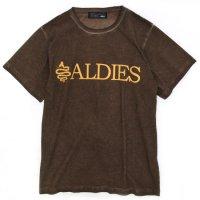 ALDIES Logo T (BROWN)(アールディーズ)