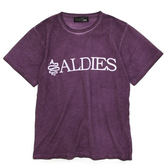 ALDIES Logo T (PURPLE)(アールディーズ)