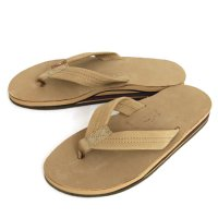 Rainbow Sandals Double Layer Premier Leather SANDAL (Sierra Brown)(レインボーサンダル)