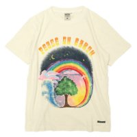 A HOPE HEMP Peace on Earth S/S Tee (Natural)(アホープヘンプ)