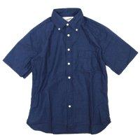 SPINNER BAIT エイタ インディゴオックス S/Sシャツ (インディゴ)(スピナーベイト)