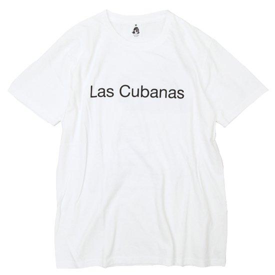 TACOMA FUJI RECORDS LAS CUBANAS S/S TEE (WHITE)(タコマフジレコード)