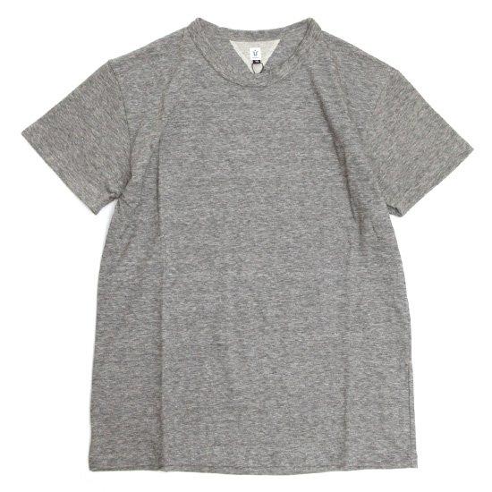 HiHiHi S/SL Tee (チャコール)(ひひひ)(Tシャツ)
