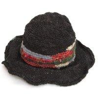 GO HEMP CORSANI HAT (ブラック)(ゴーヘンプ)(ハット)