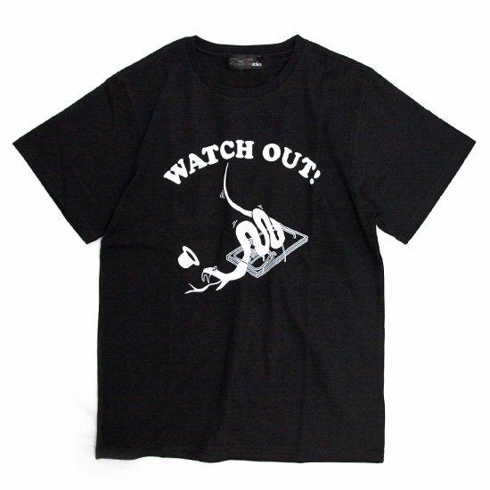ALDIES Watch Out T (ブラック)(アールディーズ)(Tシャツ)