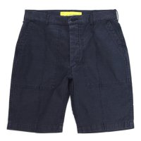 NECESSARY or UNNECESSARY MILITARY SHORTS (NAVY)(ネセサリー オア アンネセサリー)(ショートパンツ)