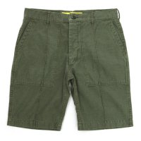 NECESSARY or UNNECESSARY MILITARY SHORTS (OLIVE)(ネセサリー オア アンネセサリー)(ショートパンツ)
