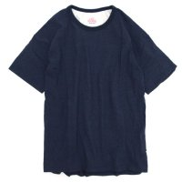 melple  ショルダーラインクルー (ネイビー)(メイプル)(Tシャツ)