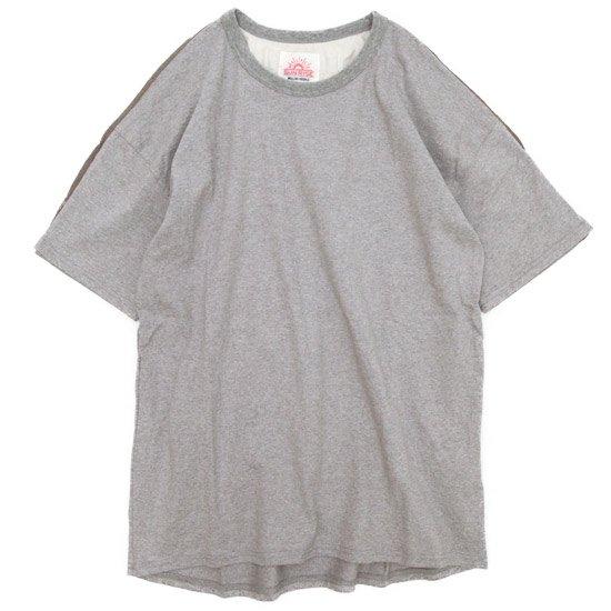 melple  ショルダーラインクルー (グレイ杢)(メイプル)(Tシャツ)