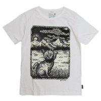 GO HEMP HEADZ CAT S/SL TEE (ナチュラル)(ゴーヘンプ)(プリントTシャツ)