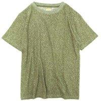 A HOPE HEMP Melange Basic S/S Tee (リーフグリーン)(アホープヘンプ)(Tシャツ)