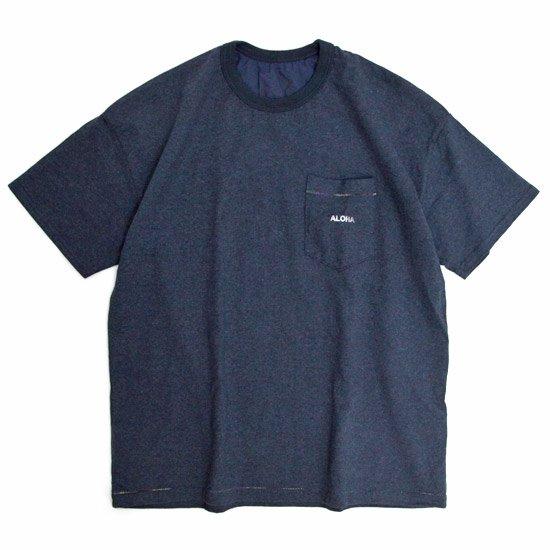 melple Rainbow Tee (ネイビー)(メイプル)(Tシャツ)