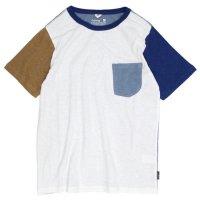 GO HEMP COMBI MULTI S/SL PK TEE (ナチュラル)(ゴーヘンプ)(Tシャツ)